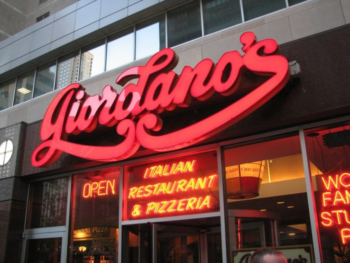 8. Rather than go to Giordano's...