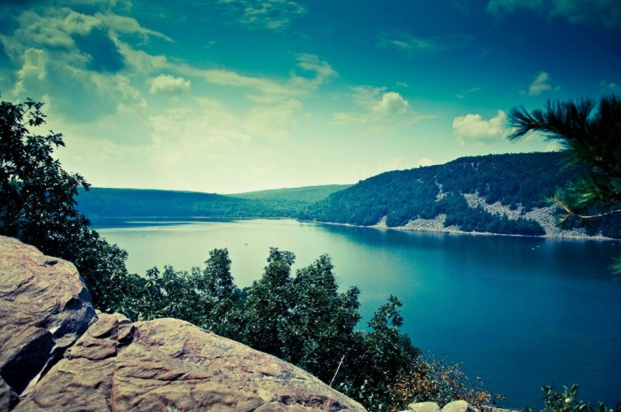 1. Rather than go to Devil's Lake State Park...