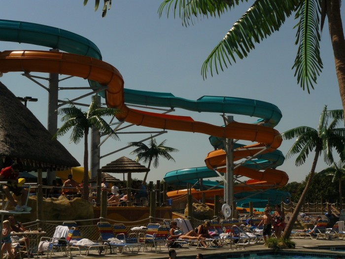 3. Rather than spend all day at crowded Wisconsin Dells...