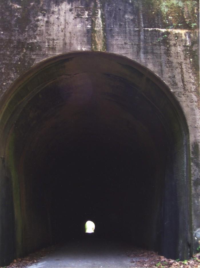 4. Bike down Tunnel Hill State Trail.