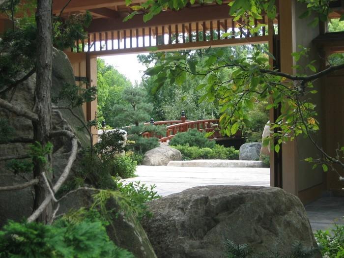 6. Stroll through Anderson Japanese Gardens.
