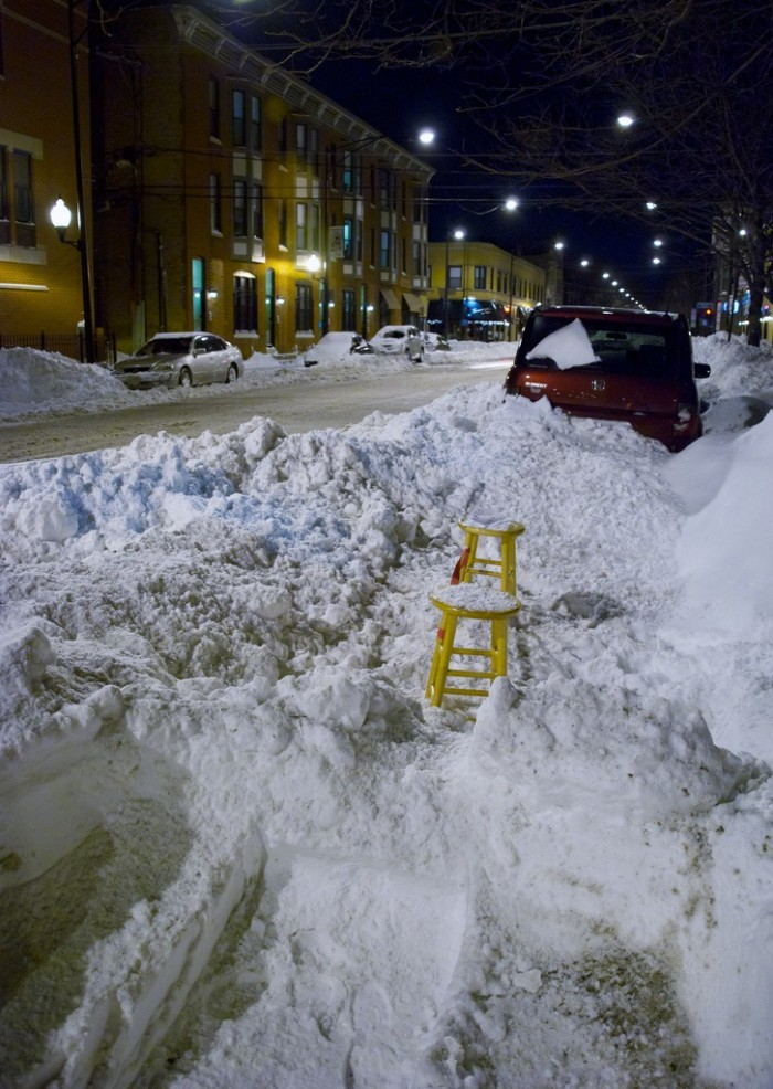 10. You might not be able to get your car out.