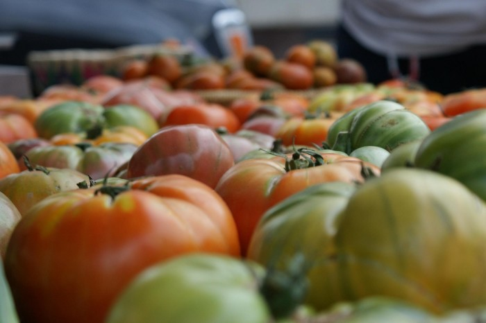 15. Cook a meal from things you only buy at a great farmers market.