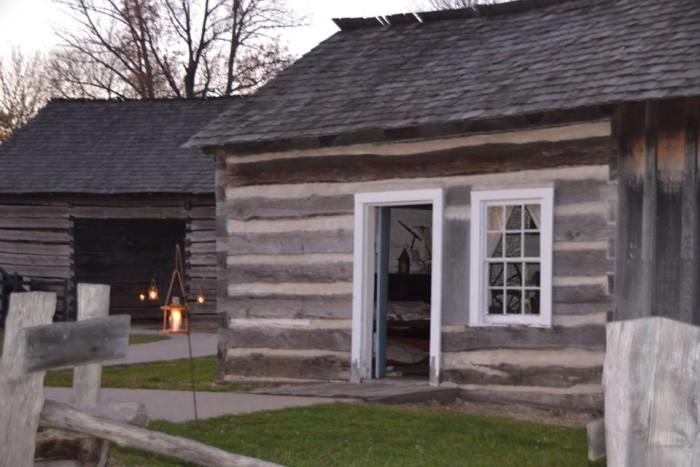 8. Lincoln Log Cabin State Historic Site