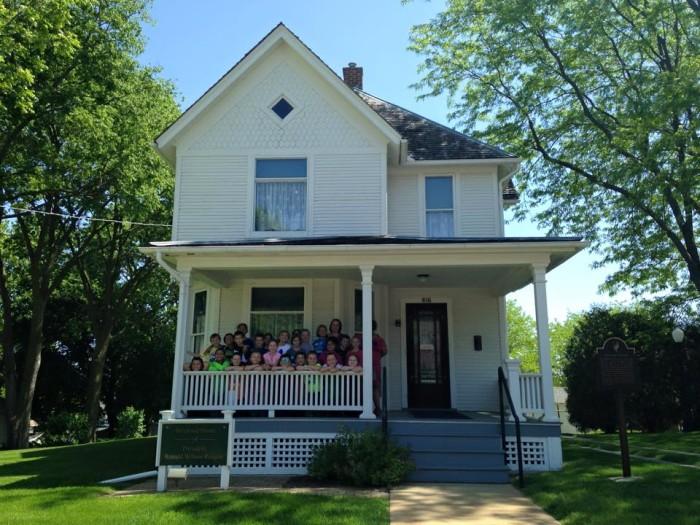 11. Ronald Reagan Boyhood Home