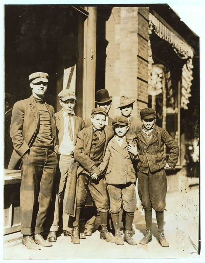 11. Candy workers at Kibbe's factory in Springfield, 1910