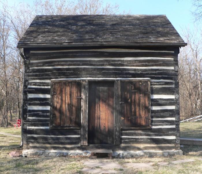 1. Mayhew Cabin and John Brown's Cave, Nebraska City