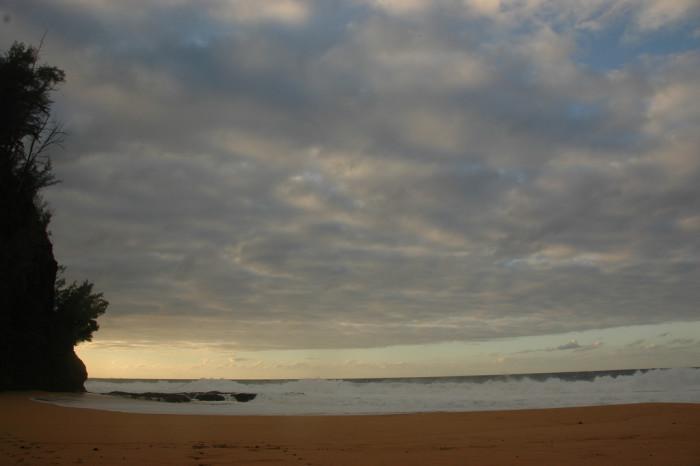 1) Kauapea Beach
