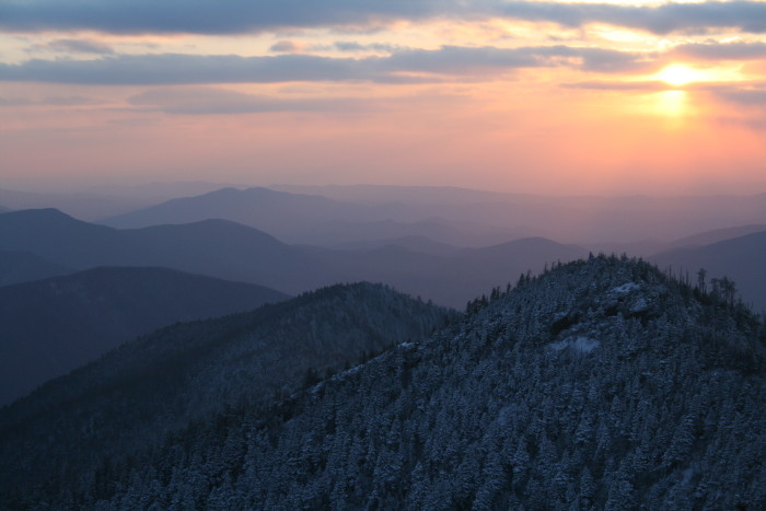 1) That sunset over Mt. LeComte is gorgeous