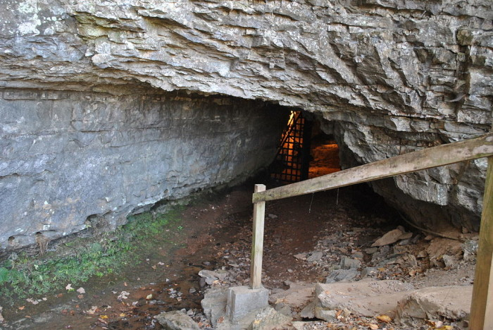 1) The Bell Witch Cave - Adams