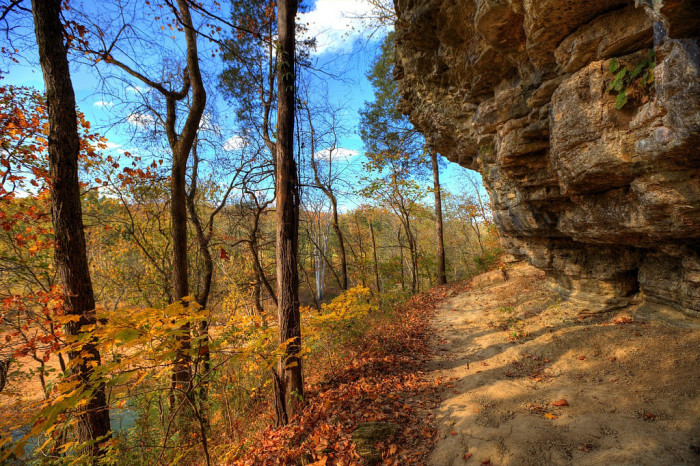 1) The Narrows of the Harpeth