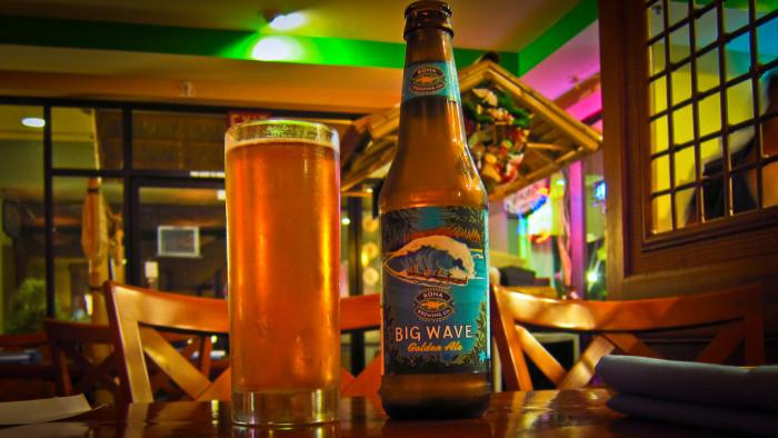 10) Drink Hawaii beer.