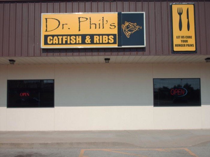 10.	Dr Phils' Catfish & Ribs, St. Robert