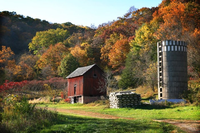1. This beautifully-colored fall scene at Yellow River State Forest in Harpers Ferry.
