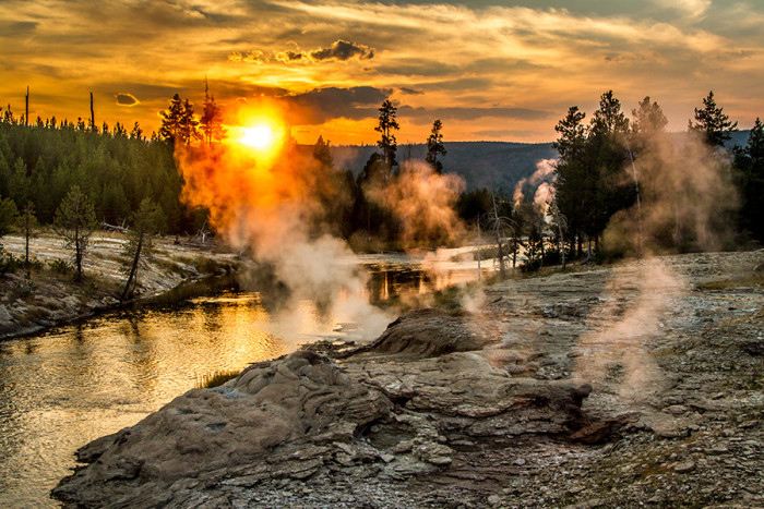7. Old Faithful, Upper Geyser Basin, Yellowstone National Park