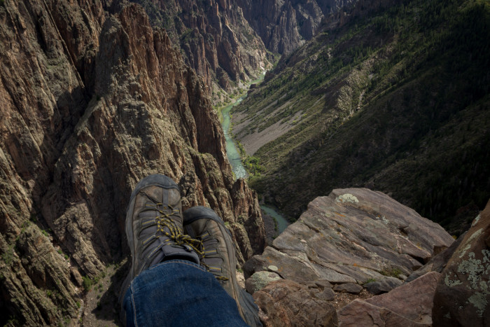 """8. """"Traveling Boots - Black Canyon of the Gunnison"""""""