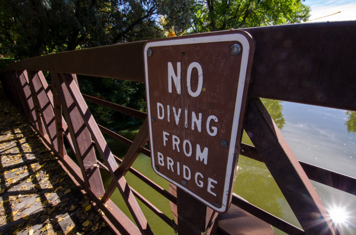 3. Another popular activity in Minnesota has been diving from bridges. Water levels can be hard to estimate, and many people have been injured or killed because of this dangerous trend.