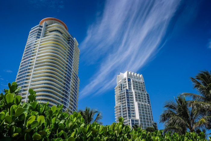 9. How cool are these clouds sweeping through Miami?