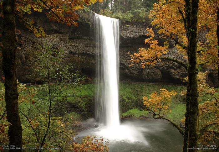 14. Behind South Falls at Silver Falls State Park