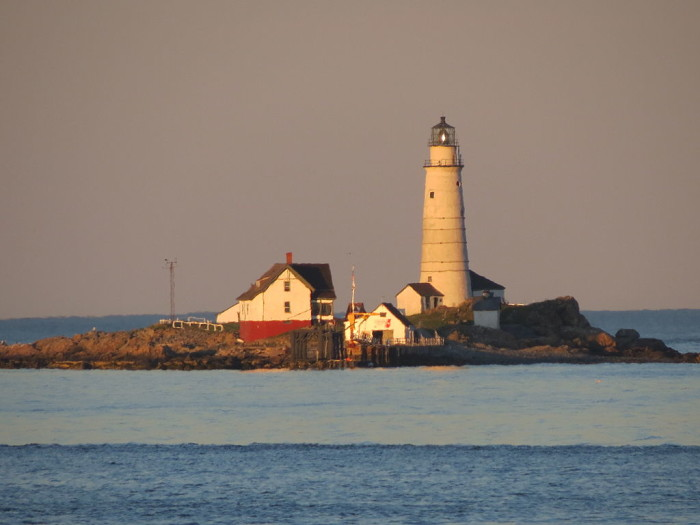 3. In 1716 the first American lighthouse was built in Boston Harbor.  Boston Light is located on Little Brewster Island.
