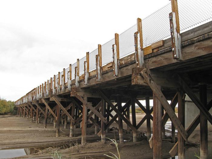 9. Rio Grande Bridge, Radium Springs