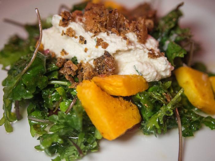 7.  Pumpkin and Kale Salad