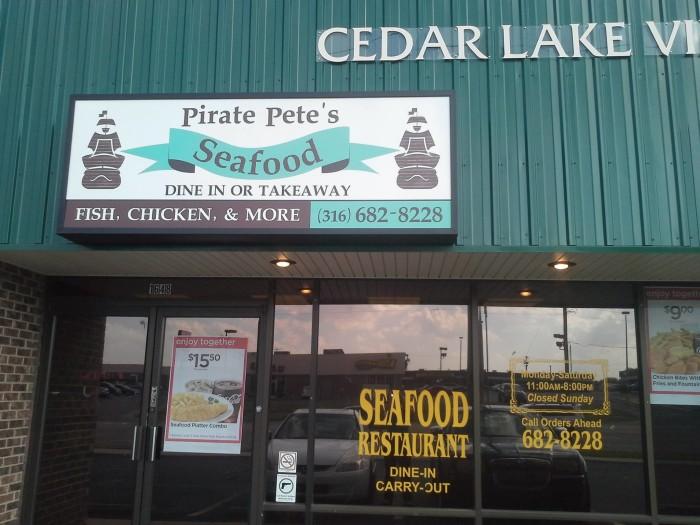 4. Pirate Pete's Seafood Restaurant (Wichita)