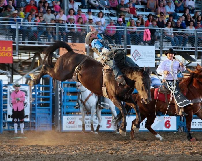 3. Buffalo Bill Cody Stampede Rodeo