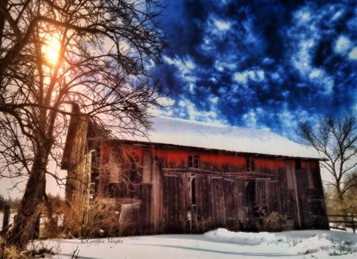 2. Ashland County barn