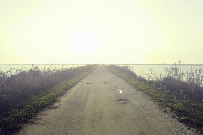 7.  A Vanishing Roadway?