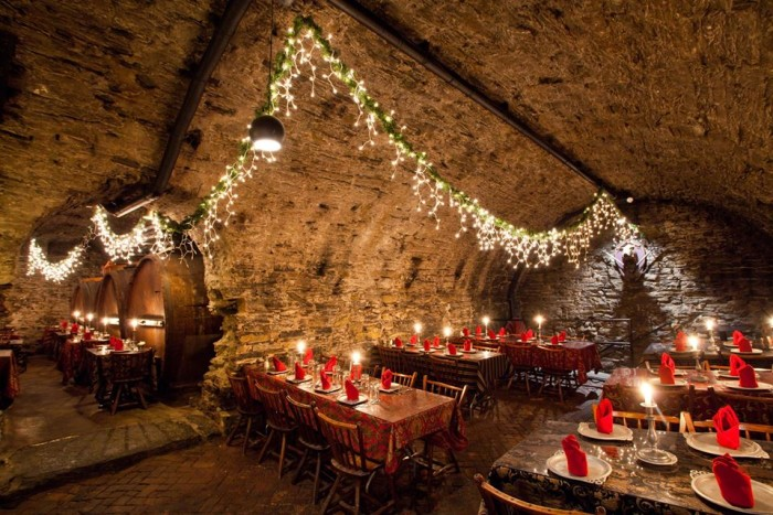 Catacombs Restaurant at Bube's Brewery, Mount Joy