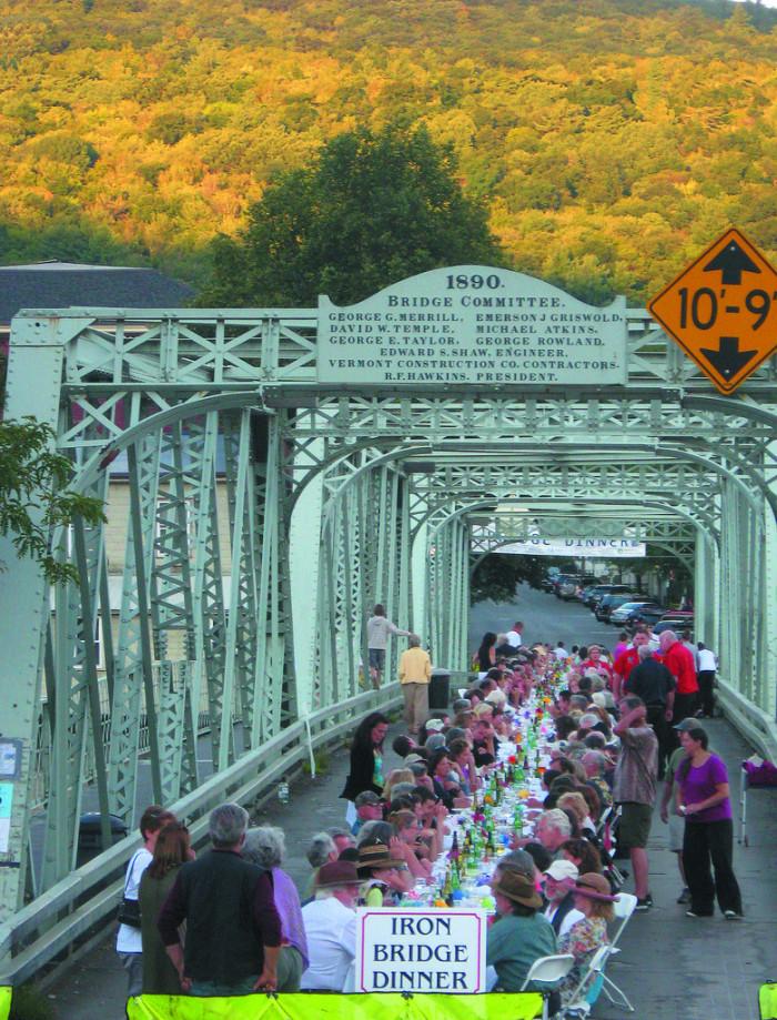 5. Iron Bridge, Shelburne Falls