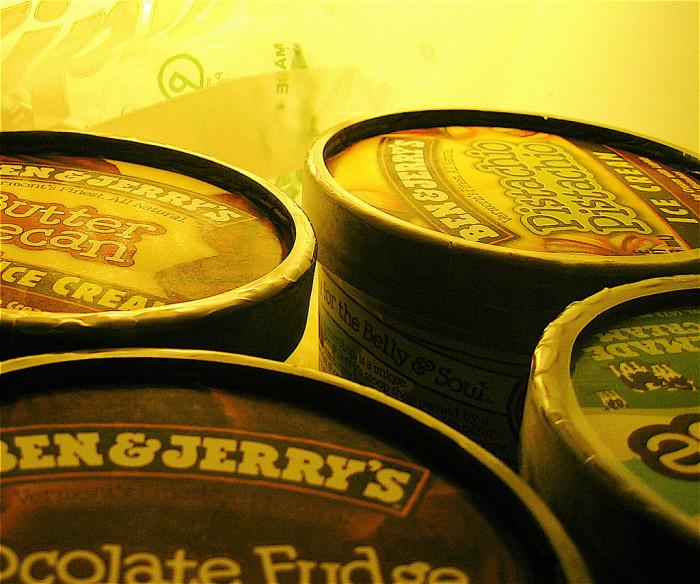 9. Ice cream.