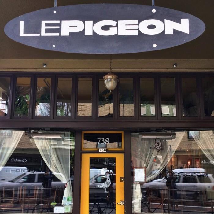 5. Le Pigeon