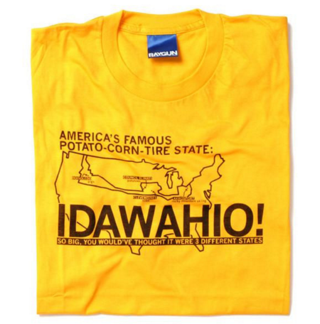 12. When you're talking to an out-of-stater and you have to explain the difference between Idaho, Ohio, and Iowa to them.