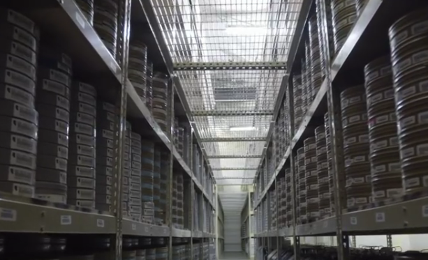 Over 150,000 film reels, Underground Vaults and Storage, Inc.