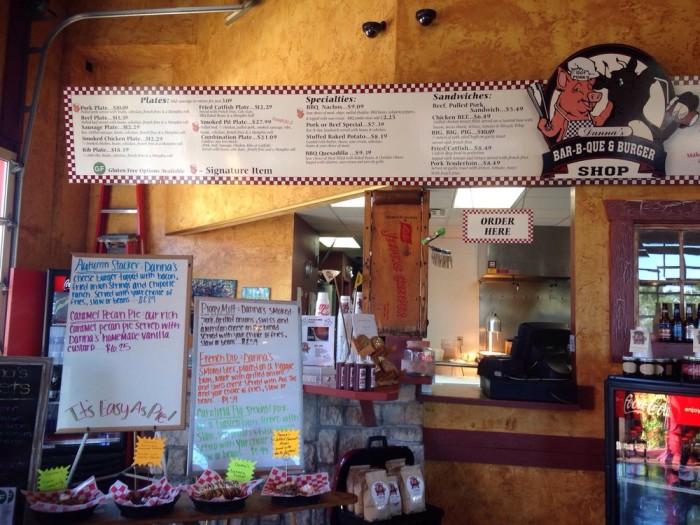 11.2. Danna's BBQ and Burger Shop, West Branson