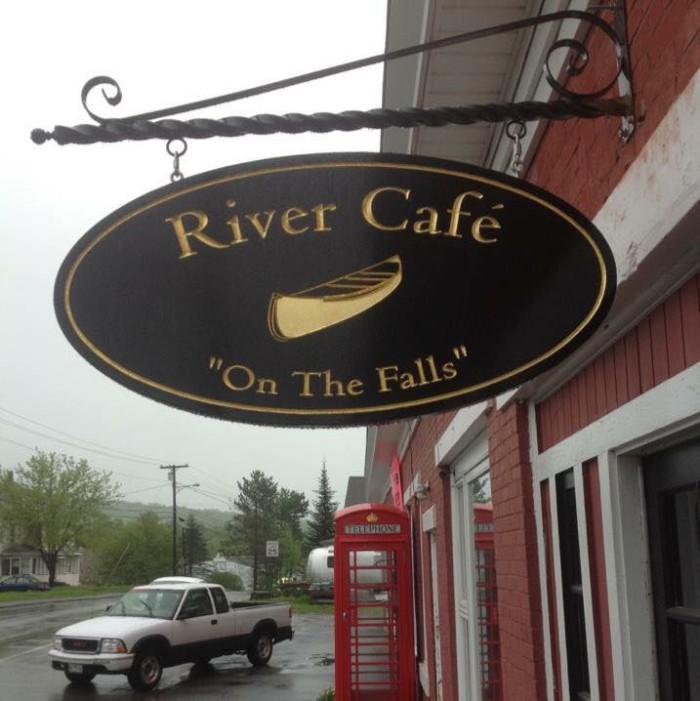 3. River Cafe, Island Falls: 23 Houlton Road, 207-463-7001