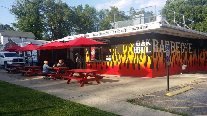 9. Oak Hill Barbecue (Sunbury)