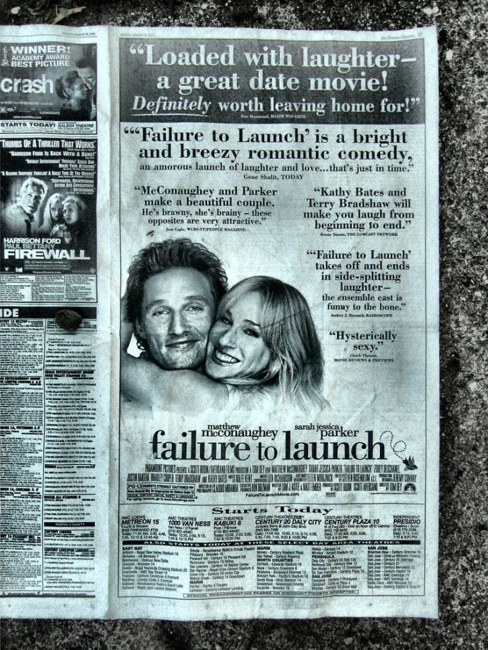 8) Failure To Launch