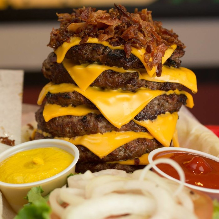 Indiana: AJ's 1260 Challenge at AJ's Burgers and Beef (West Lafayette)