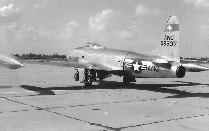4. Air Force Fighter Squadron Aircraft (Ellington Field, 1955)