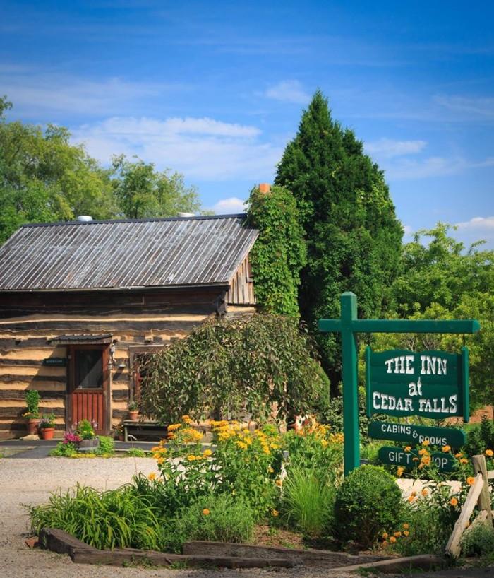 4. The Inn and Spa at cedar Falls (Logan)