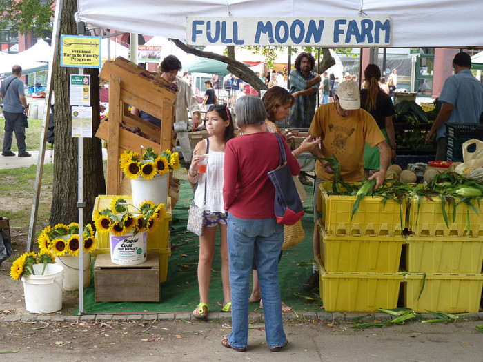 5. Check out a Farmers Market.