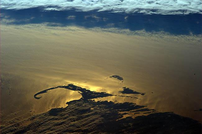 12. This shot of Cape Cod was taken all the way from the International Space Station!