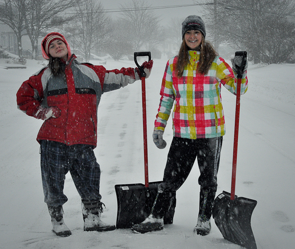 9) A snow shovel. It's good to be prepared, although you're usually hoping it won't be needed.
