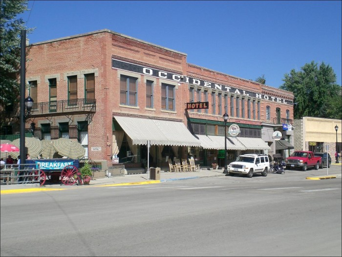 50. Wyoming: Occidental Hotel in Buffalo
