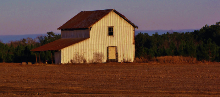 9. 'White Barn.'