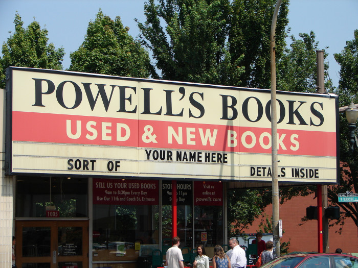 9. Oregon is home to arguably the best bookstore in the world.
