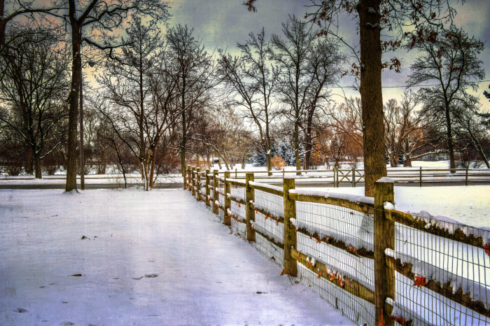 19. Toledo winter landscape